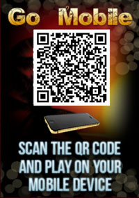 Scan the QR Code and play on your mobile at Silversands Casino
