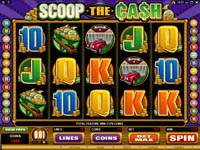 Microgaming - Scoop The Cash
